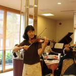 佐藤祥子さんバイオリン(1)