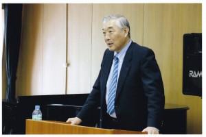 第2部:平井俊邦氏による熱い講演。