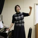 森川先生の歌唱指導