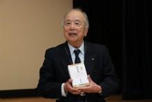 米寿を迎えられる染谷嘉男会員。 歌うことが元気の秘訣とのこと。