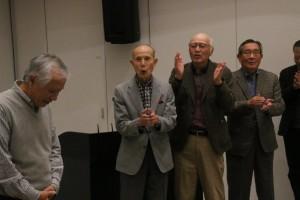 講師東島昭二会員へのエール。
