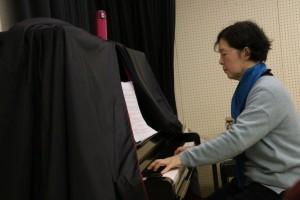 山田玲子先生による歌唱指導