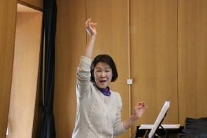 森川先生 発声の指導(高い声の出し方)