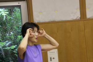 森川先生による発生指導