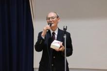 米寿の丸山茂会員のご挨拶