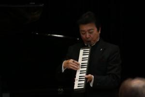 下村さんのピアニカ演奏